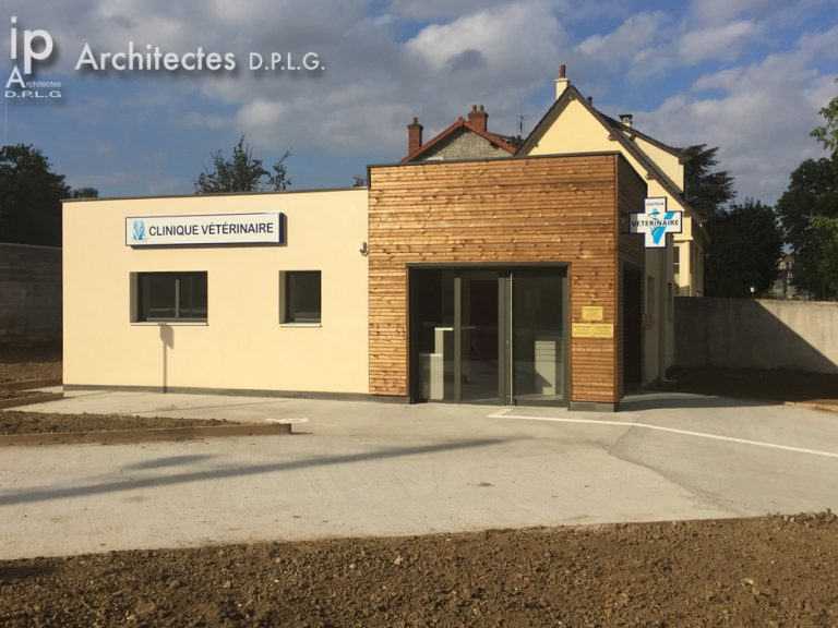 CONSTRUCTION D'UNE CLINIQUE VETERINAIRE ETRECHY
