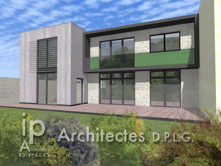 FONTAINEBLEAU (77) – CONSTRUCTION DE 2 MAISONS INDIVIDUELLES