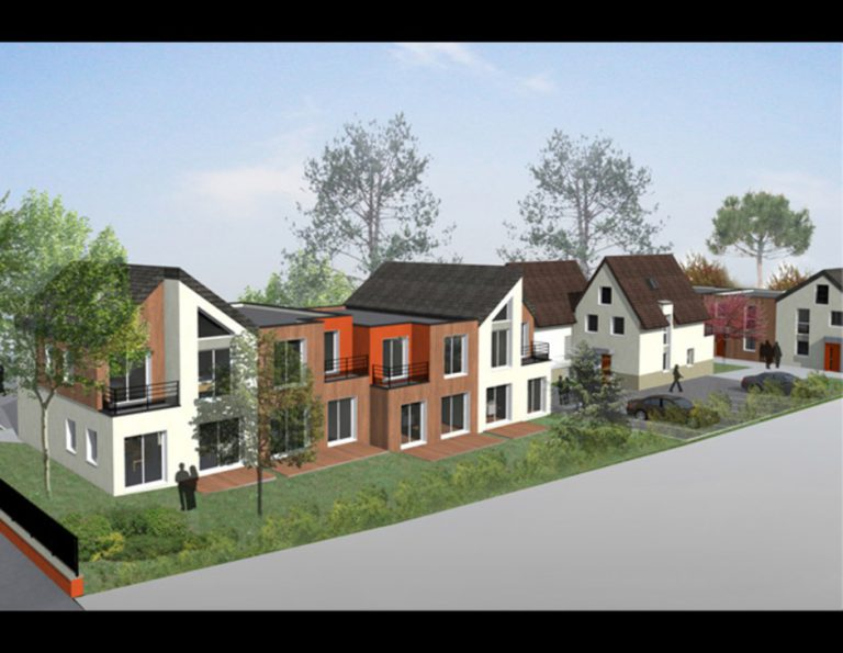 LARDY (91) – CONSTRUCTION DE 8 MAISONS INDIVIDUELLES & DE 2 APPARTEMENTS