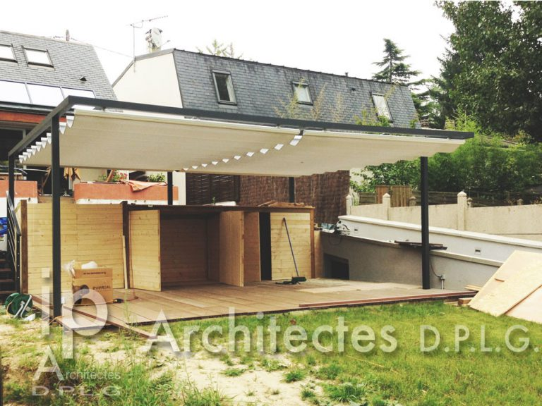 EXTENSION et RENOVATION D'UNE MAISON INDIVIDUELLE VERRIERES LE BUISSON