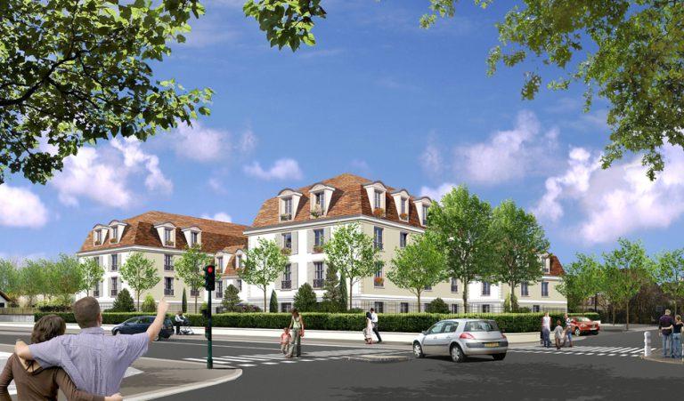 YERRES (91) – CONSTRUCTION DE 78 LOGEMENTS CADRES & 18 LOGEMENTS SOCIAUX