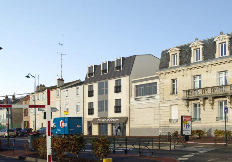 ETAMPES (91) – CONSTRUCTION D'UN CENTRE DE SOINS, CABINETS MEDICAUX & LOGEMENTS