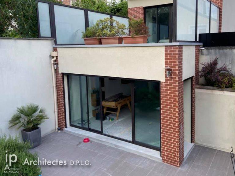 LE PERREUX-SUR-MARNE (94)- Réfection des menuiseries et terrasse extérieure